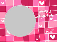 Valentine's Day wallet templates