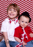 Camdyn and Griffyn - Valentine's Day 2013