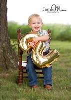 Jarrett Family - Parker is TWO!