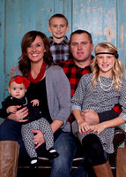 Stenzel Family - Christmas session